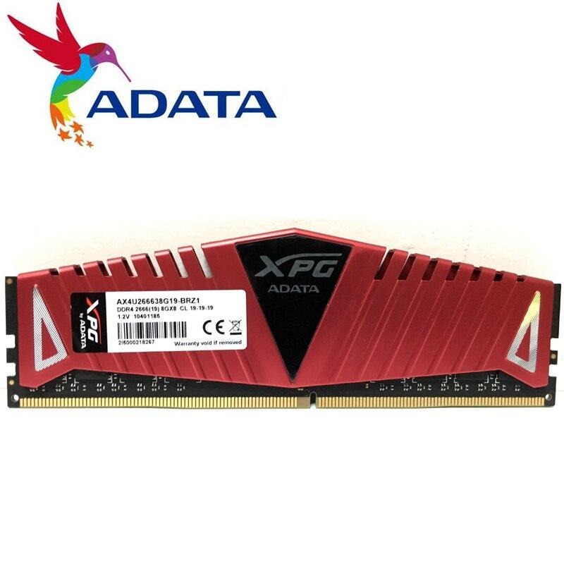 ADATA XPG Z1 PC ddr4 ram 8 GB 16 GB 2400 MHz ou 3000 MHz 3200 MHz 2666 MHz DIMM ordinateur de bureau de mémoire Soutien mère ddr4 8G 16G 3000