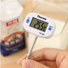 MOSEKO 5PCS Hot Sale Digital LCD Food BBQ Meat Chocolate Oven Probe Cooking Thermometer TA-288 Kitchen Thermometer Free Shipping