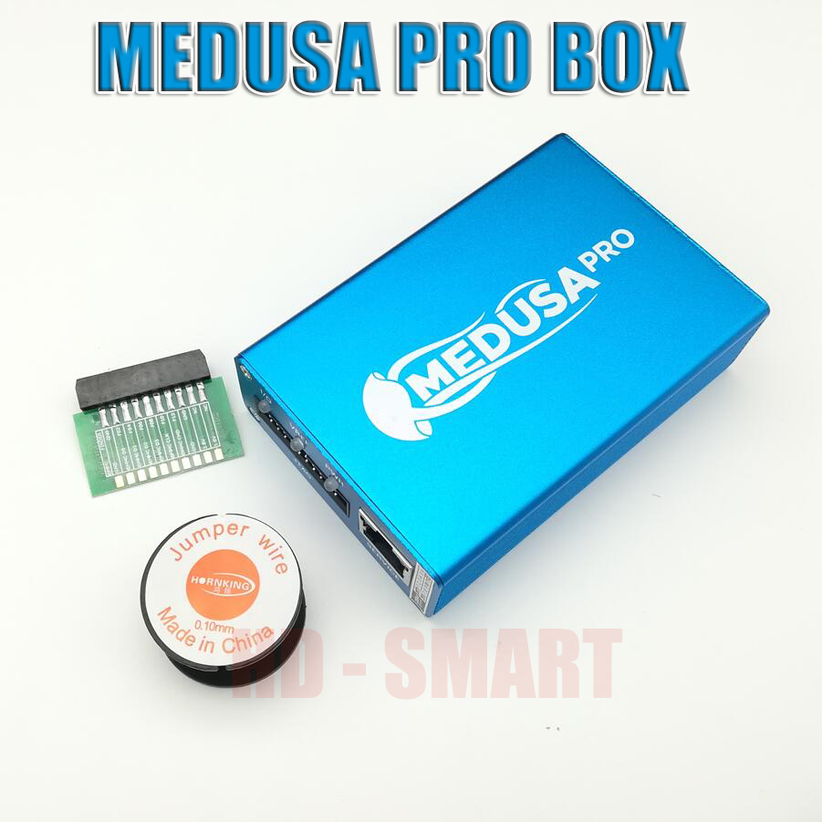 US $152 85 |2018 Original new Medusa PRO Box Medusa Box + JTAG Clip MMC For  LG For Samsung For Huawei with Optimus cable-in Telecom Parts from