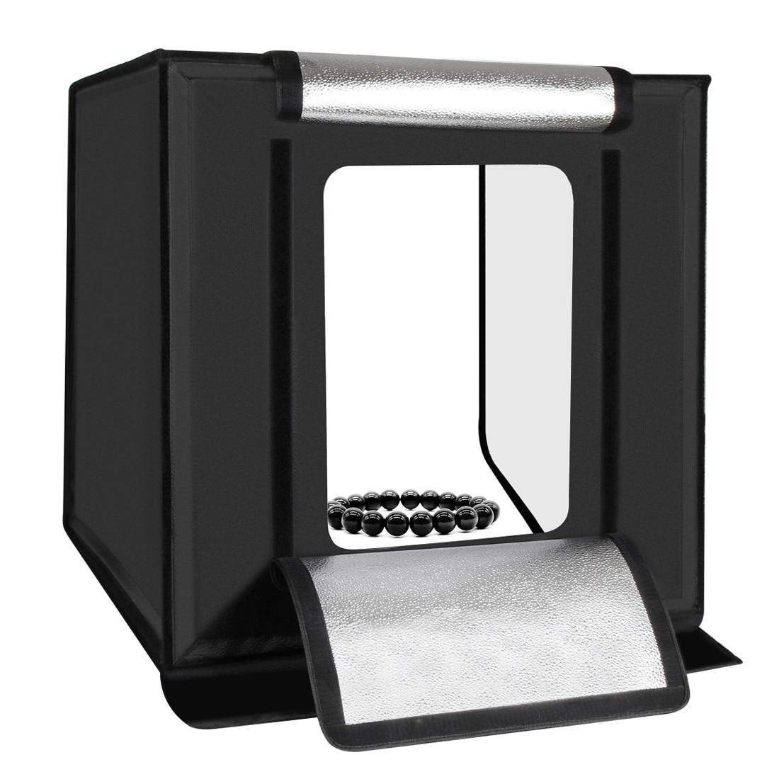 PULUZ 60x60x60 см портативный мини фото студия короб фото коробка со встроенным освещением аксессуары для фотостудий США Plug