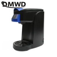 DMWD Electric Drip Coffee Maker Portable Mini Espresso Powder Capsules Cafe American Coffee Machine Extractor Cafe Stove 360ML