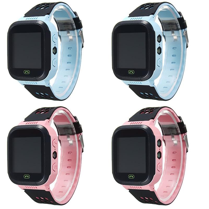 GPS Smart Watch Kids Safe Children Location Tracker SOS Call For Child Anti lost Monitor Wristwatch