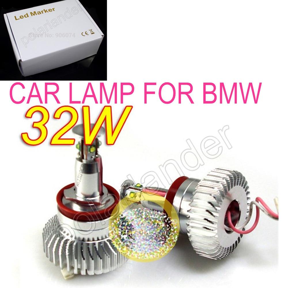 NEW arrival car lamp  32W for BMW E82/E87 /E90/E91/E92/E93etrc  ANGELE EYES LED MARKER