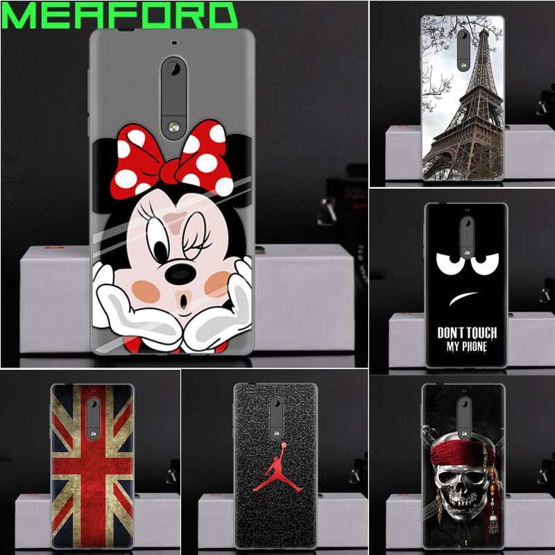 For Coque <font><b>Nokia</b></font> <font><b>5</b></font> <font><b>Case</b></font> Silicone Soft TPU <font><b>Case</b></font> For Nokia5 Back Cover Cartoon Ultra Thin Capa For <font><b>Nokia</b></font> <font><b>5</b></font> <font><b>5</b></font>.2&#8243; <font><b>Phone</b></font> <font><b>Cases</b></font> Fundas