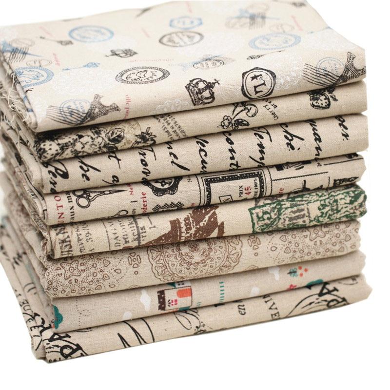vintage impression diy patchwork tissu zakka coton tissu quilt patchwork couture d 39 organza. Black Bedroom Furniture Sets. Home Design Ideas