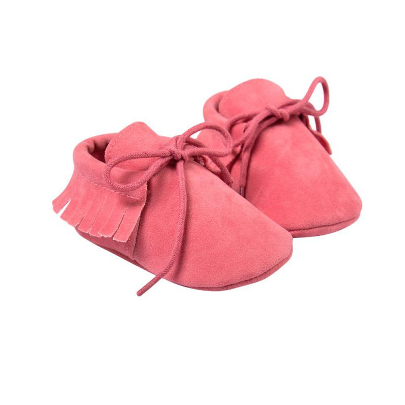 Mother & Kids ... Baby Shoes ... 32688131716 ... 5 ... Kacakid Baby Shoes PU Suede Leather Newborn Baby Boy Girl Moccasins Soft Shoes Fringe Soled Non-slip Crib First Walkers Shoes ...