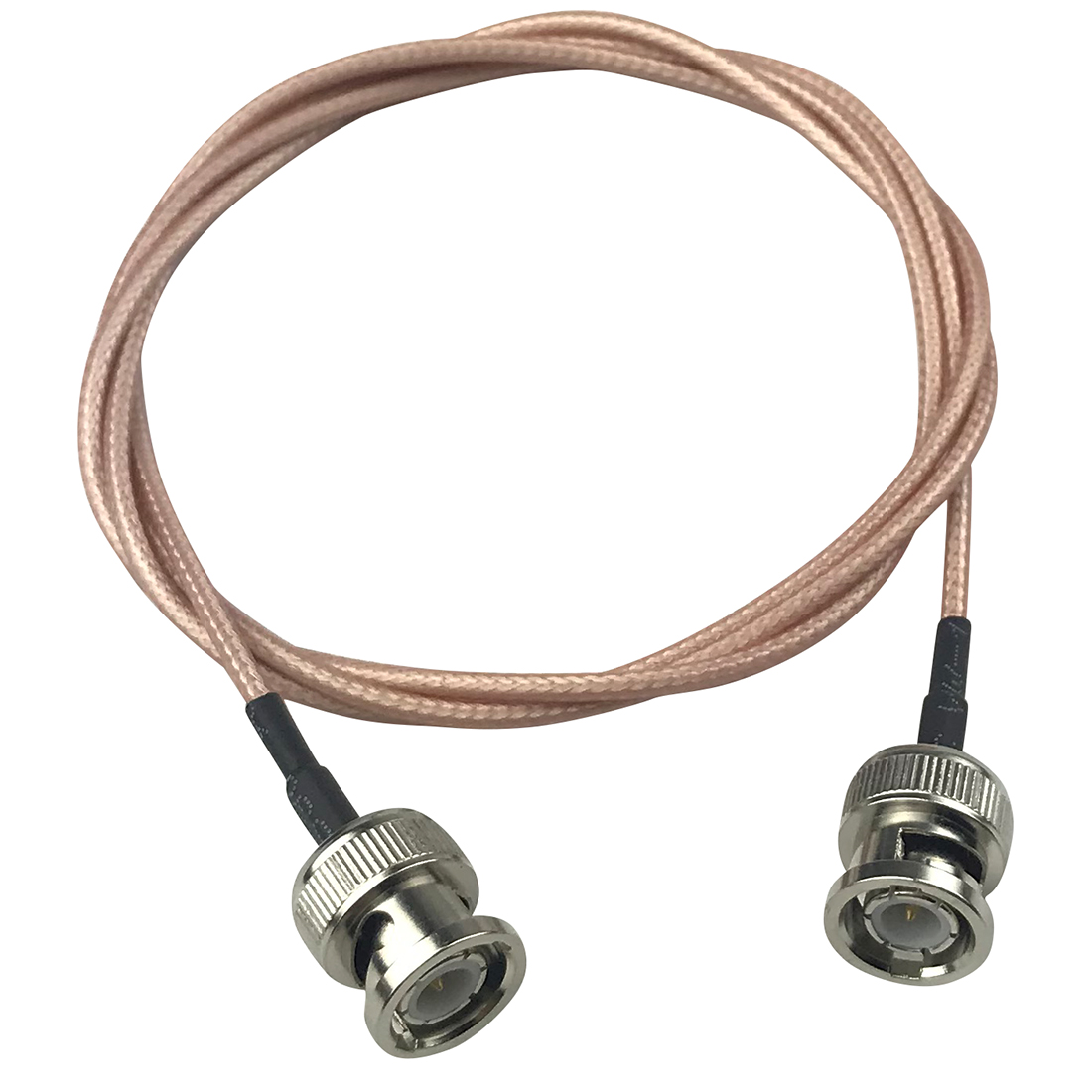 RG316 SDI Cable 50 Ohm BNC Male To BNC Male Video Coaxial Coax Cable For SDI Camera Security CCTV Camera DVR System/BMCC 1M/3FT