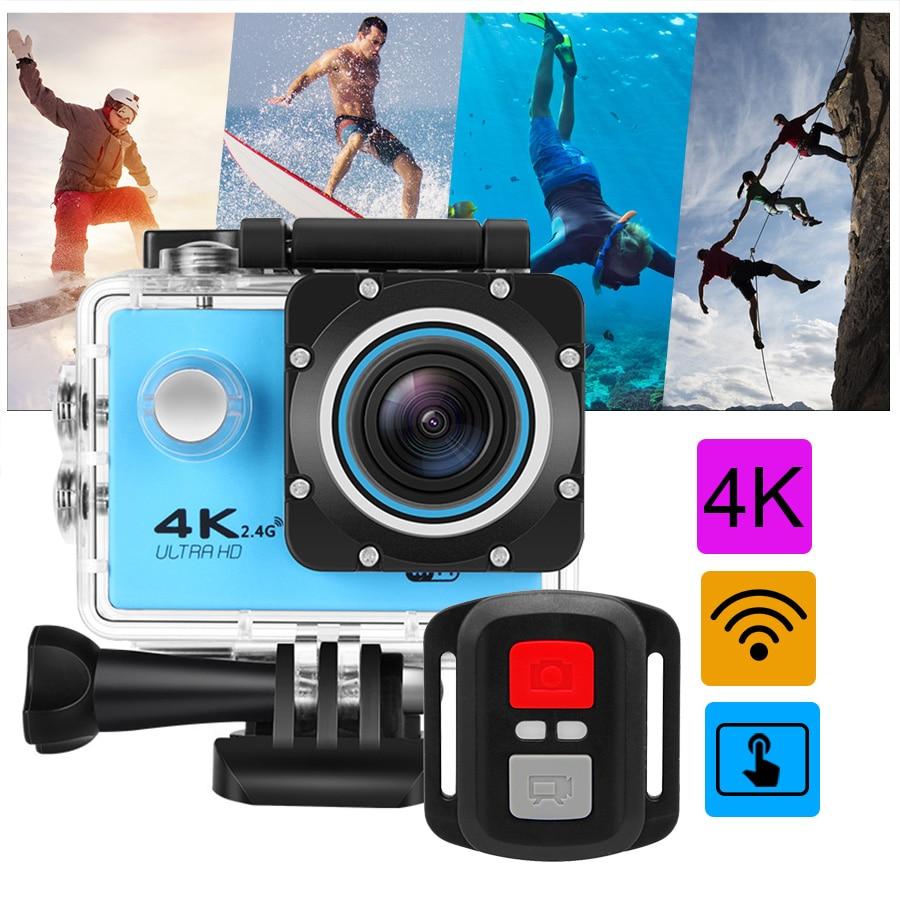 Unterhaltungselektronik Action Kamera Ultra Hd 4 K/30fps Wifi 2,0 170d Unterwasser 30 M Wasserdicht Helm Video Aufnahme Kameras Sport Kamera