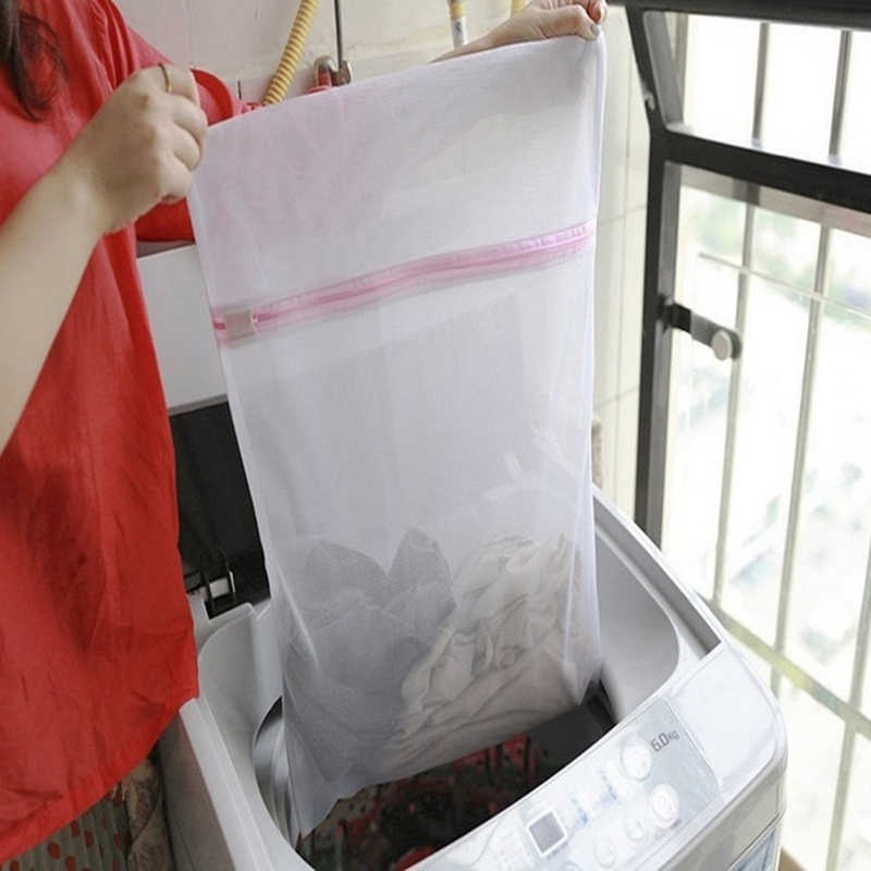3 tamanhos de Roupas Máquina de Lavar Saco de Roupa Bra Mulheres Lingerie Saco De Rede de Malha Bolsa Grosso Net