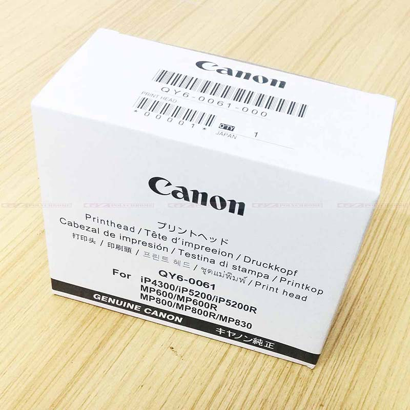 New Original Print Head QY6-0061-00 Printhead for Canon iP4300 iP5200 iP5200R MP600 MP600R MP800 MP800R MP830 Plotter