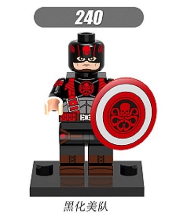 Toys & Hobbies Methodical Single Sale Super Heroes Hydra Captain America Thanos Crossbones Brock Rumlow Black Widow Building Blocks Children Toys Xh 240 Elegant Shape Blocks