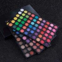 Brand New fashion Natürliche 180 Farben Matt Pigment Lidschatten-palette Kosmetik Long Lasting Makeup set Lidschatten für frauen