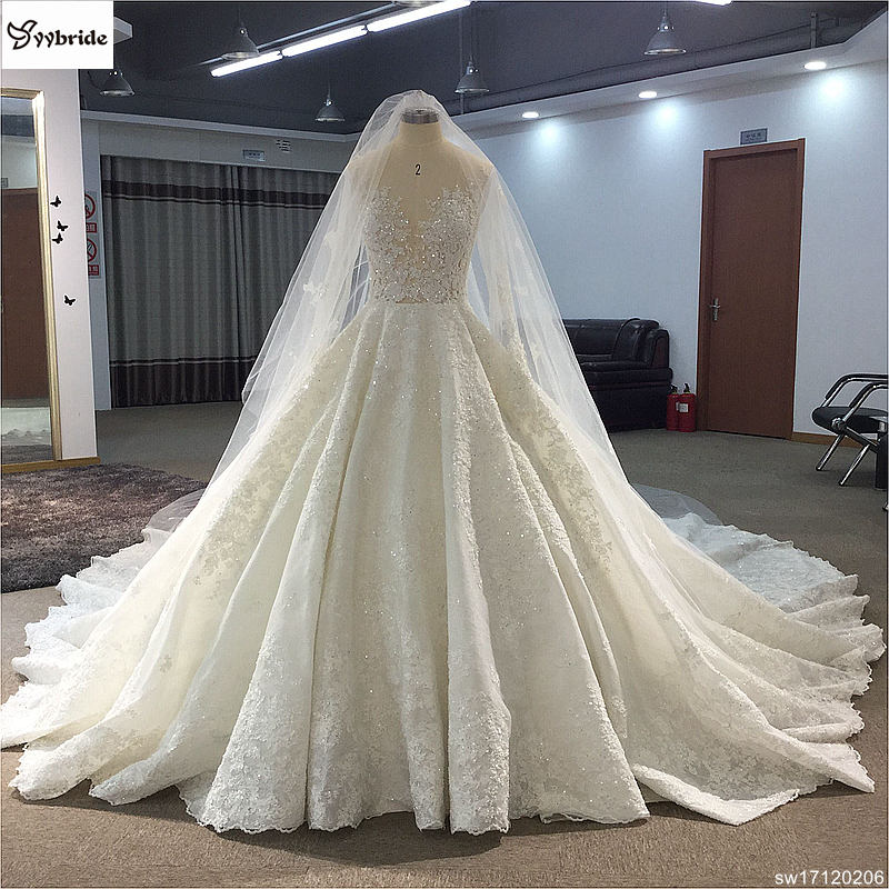 sw17120206 surmount custom made royal train wedding dresses 2018 ball gown long sleeves robe de soiree long robe de mariage wedding dresses Surmount Custom Made Royal Train Wedding Dresses 2018 Ball Gown Long Sleeves robe de soiree Long robe de mariage Wedding dresses HTB1 D4FglfH8KJjy1Xbq6zLdXXaW
