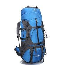 Профессиональный Туризм рюкзак Отдых Открытый 65L дорожная сумка Пакет Поля мужчин и женщин плеча рюкзак ранец большой Ёмкость