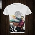 JoJo Bizarre Aventura Estrela Camiseta Manga Anime T-shirt Legal camisa Engraçada de T Das Mulheres Dos Homens de Estilo da novidade Impresso T Da Forma DT013