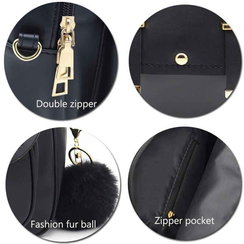 cetiri preto mulheres mochila pequeno Color : Gray/black