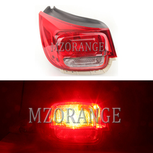 MIZIAUTO Rear Tail Light Assembly for Chevrolet Malibu 2012-2015 Rear Brake Light Stoplight Reversing Lamp for chery a3 sedan reversing light rear tail lamp assembly brake light lamp tail light assembly