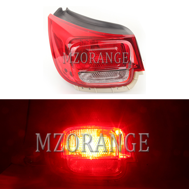 MIZIAUTO Rear Tail Light Assembly for Chevrolet Malibu 2012 2015 Rear Brake Light Stoplight Reversing Lamp