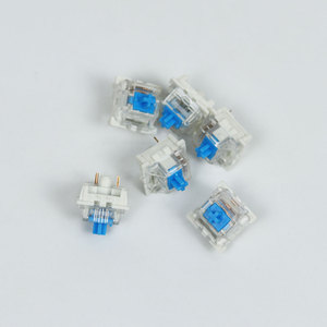Image 5 - Outemu Switches mechanical keyboard black blue brown red key switch for CIY Sockets SMD 3pin Thin pins Compatible with MX switch
