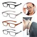 Alta calidad de moda estiramiento luz gafas de lectura de Hanging de cuello presbicia 1.0 1.5 2.0 2.5 3.0 dioptrías