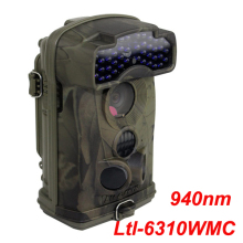 Low Glow 940nm Ltl Acorn Ltl-6310WMC Infrared Trail Scouting Camera Wide Lens Game Hunting 720P Video 44 IR LEDs