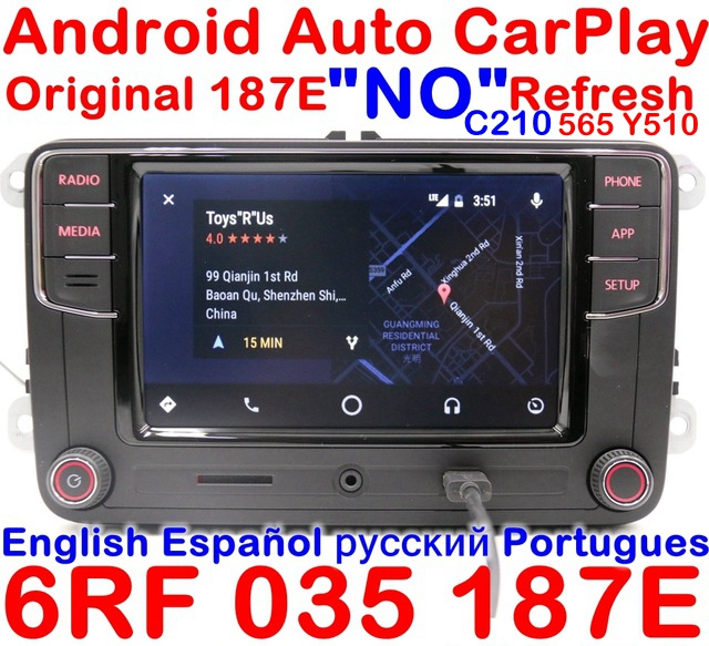 carplay android auto r340g rcd330g plus radio for vw. Black Bedroom Furniture Sets. Home Design Ideas