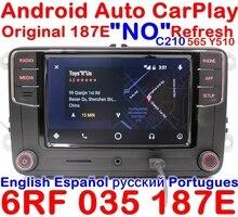 CarPlay Android Auto r340g rcd330g плюс Радио для VW Tiguan Гольф 5 6 MK5 MK6 Passat Мужские поло 6rf 035 187 e RCD510 rcn210