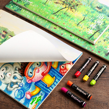 BGLN oil pastels hand-painted this coloring paintings childrens graffiti art supplies