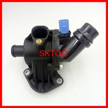 Thermostat Housing with Sensor  For Audi A4 /A4 Quattro1.8L OE#: 06B121111K