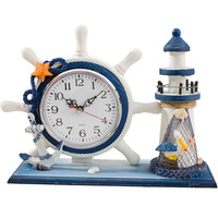 Vintage Electronic Desk Clock Table Clock Office Accessories Decoration Desk Shabby Chic Vintage Style Masa Saati Silent WZH004