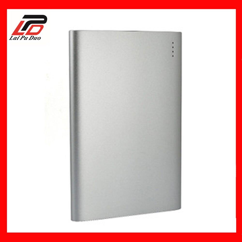 20000 mAh batterie externe QC3.0 Charge rapide grande capacité double USB alimentation mobile pour téléphones mobiles/pour Android/PSP/Mackbook