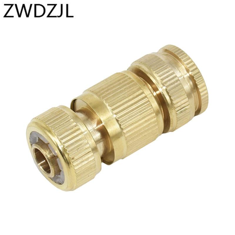 Garden brass hose quick connector 1/2 copper connector garden hose female Thread 1/2 3/4 water gun fitting 1set