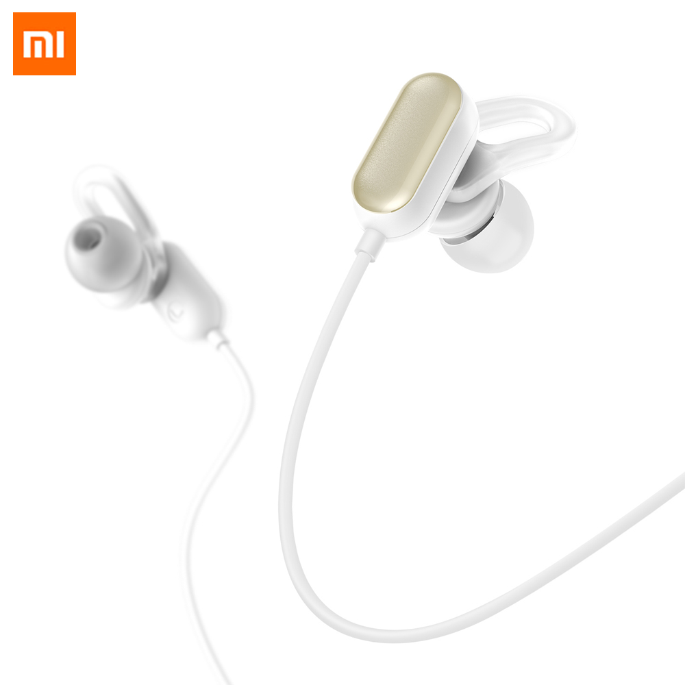 Original Xiaomi Mi Sports Bluetooth Headset Youth Edition Xiaomi Wireless Bluetooth 4.1 With Microphone IPX4 Waterproof 5 Earbud