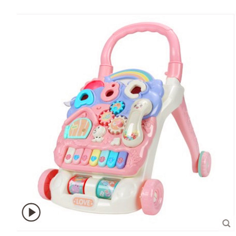 Childrens walker, trolley, multi-purpose baby boys and girls learn to walk stroller, baby toys for 6-18 monthsChildrens walker, trolley, multi-purpose baby boys and girls learn to walk stroller, baby toys for 6-18 months