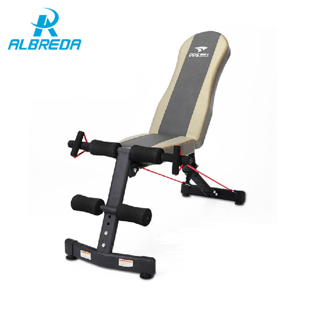 ALBREDA hot Sit Up Bench fitness equipment for home abdominal waist muscles trainer bench women/man ab mat the sports equipments цена