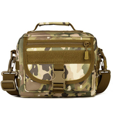 Horizontal Version Camouflage Outdoor Sports Bag Multi-function Instrument Pockets Casual Shoulder Messenger Bag Riding Pack