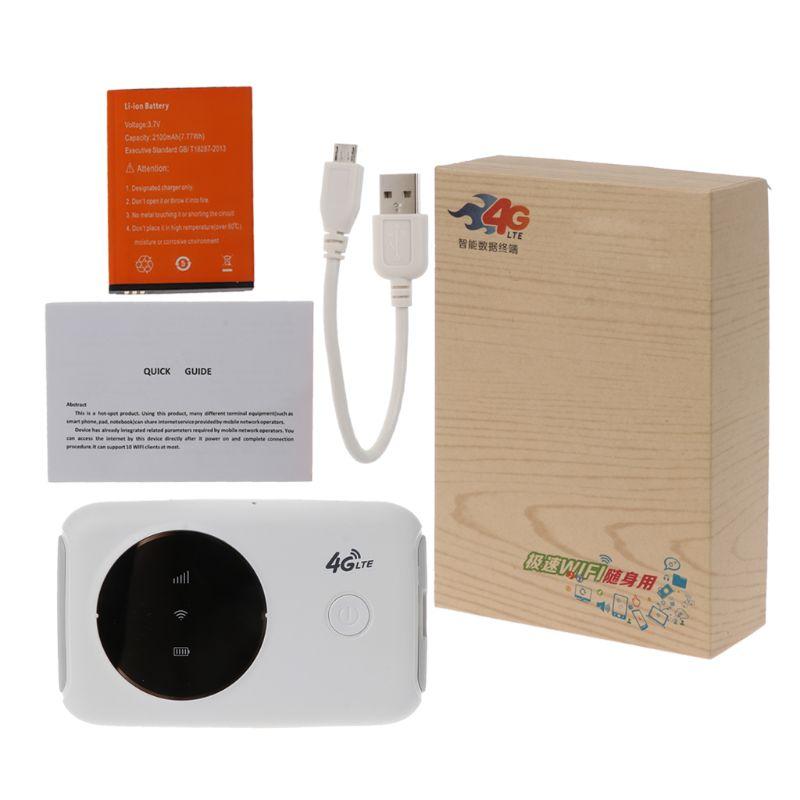 4G Wifi routeur 3G 4G Lte Portable sans fil poche wifi Mobile Hotspot voiture Wi-fi routeur avec fente pour carte Sim avec affichage4G Wifi routeur 3G 4G Lte Portable sans fil poche wifi Mobile Hotspot voiture Wi-fi routeur avec fente pour carte Sim avec affichage