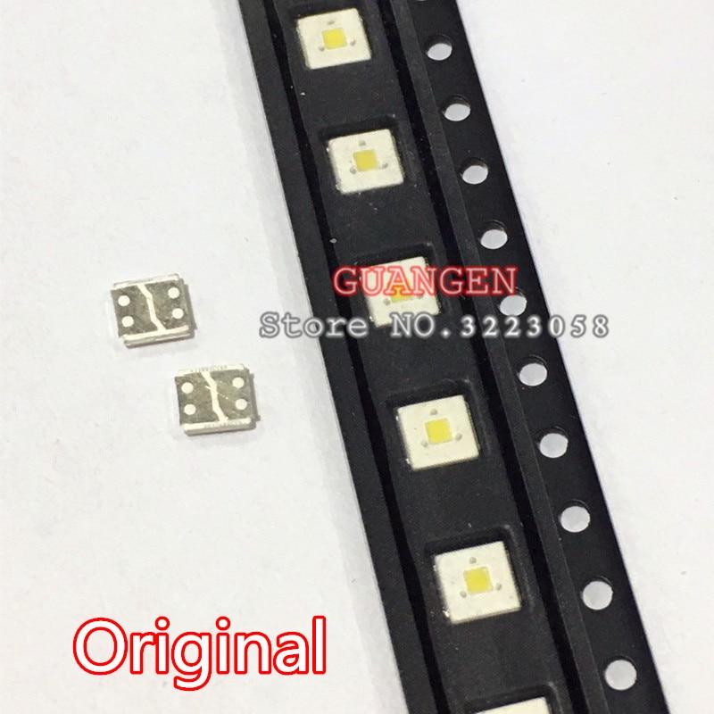 ORIGINAL 50PCS LUMENS LED Backlight Flip-Chip LED 2.4W 3V 3535 Cool White 153LM For SAMSUNG LED LCD Backlight TV Application