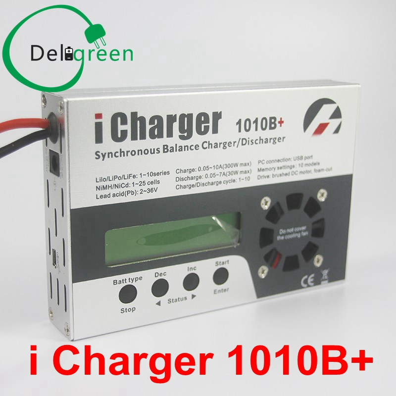 iCharger 1010B+  for RC MODEL/ Model Planes Model Air Craft 10A 300W 10S Fast Charger набор канцелярский planes