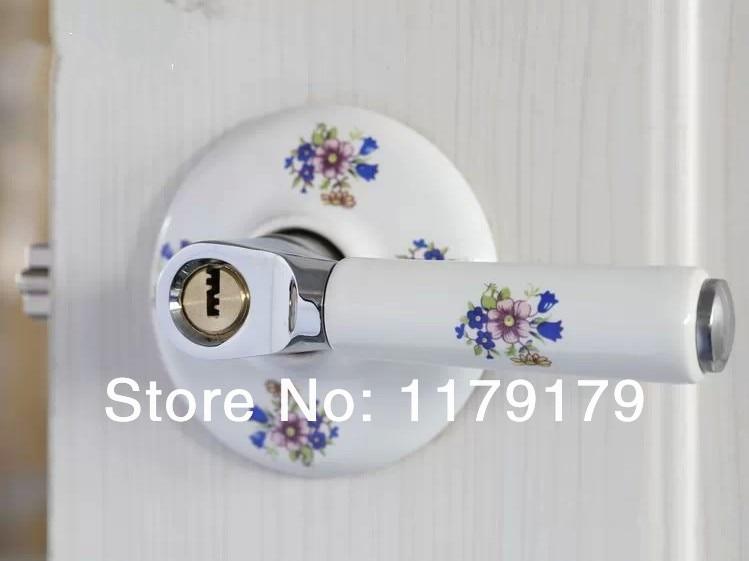 Interior door lock   ceramic and 304 stainless door lock , European countryside door lock , simple style gate lock05SSTZInterior door lock   ceramic and 304 stainless door lock , European countryside door lock , simple style gate lock05SSTZ
