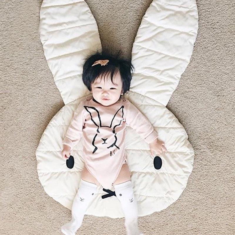 Miffy Rabbit Baby Carpet Play cute Mats Rabbit Crawling Blanket Kids Room Floor Rugs Children Padded Nursery Bedroom Decorations