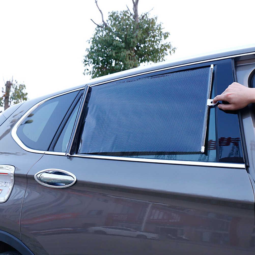 Universel rétractable voiture véhicule rideau fenêtre rouleau pare-soleil store protecteur (50*125 CM) A30