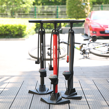 Hot Sale Bicycle Pump Bicycle Accessory Mountain Bike 170PSI High Pressure Bike Tire Inflator Bicycle Floor Air Pump with Gauge цена 2017