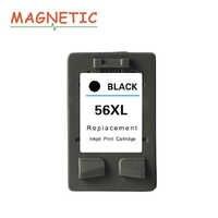 1pc magnético, cartucho de tinta Compatible para HP 56 para HP56 Deskjet serie 5150 450CI 5550, 5650, 7760, 9650 PSC 1315, 1350, 2110, 2210, 2410