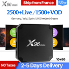 X96 mini IPTV Sweden Subscription Box Android 7.1 S905W 1G 8G with 1 Year IUDTV IPTV Code Arabic Sweden Spain Italy Norway IP TV
