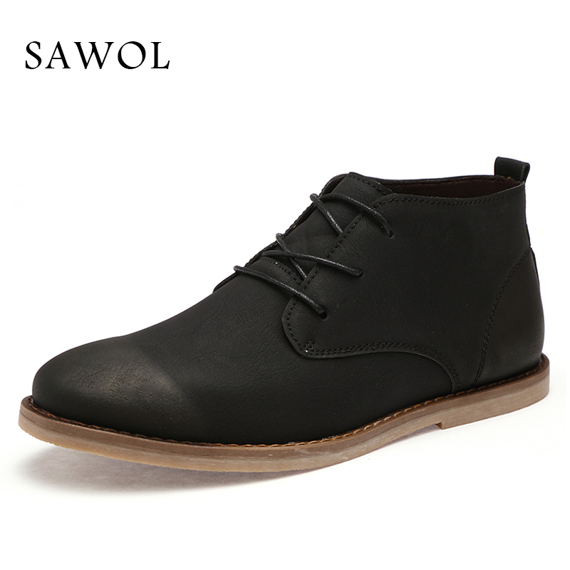 Sawol Men Casual Shoes Brand Men Shoes Men Sneakers Men Flats Lace Up Genuine Split Leather Plus Big Size Spring Autumn glowing sneakers usb charging shoes lights up colorful led kids luminous sneakers glowing sneakers black led shoes for boys