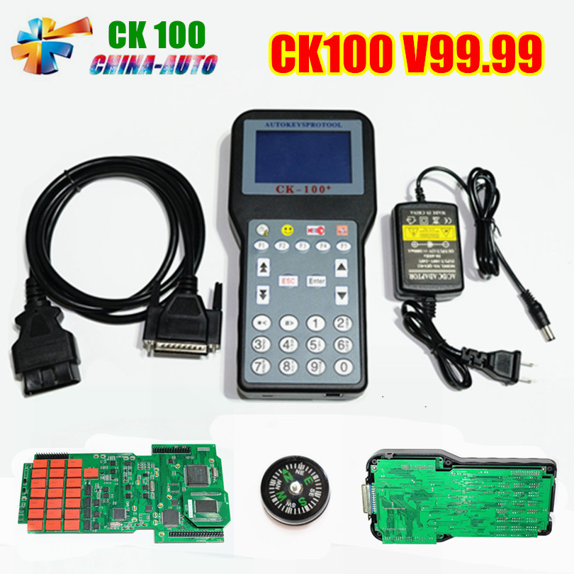 Promotion The Newest Generation V99.99 CK100 Auto Key Programmer SBB CK 100 With Multi-language OBD2 Car Key Programmer CK-100 стоимость