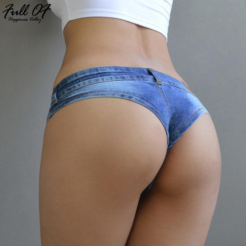 Sexy Vintage Women Skinny Mini Jeans Booty Shorts Cute Bikini Denim Short Hot Vestidos Nightclub Party Bikini Bottom Befree 2020