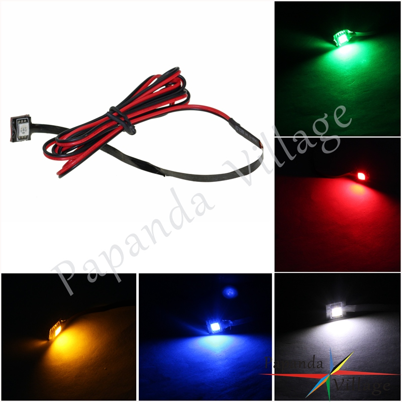 5 Color Waterproof Mini Motorcycle LED License Plate Rear Tag Lamp 3-chip Super Bright SMD LED Light Angel Eyes LED Strips 113cm