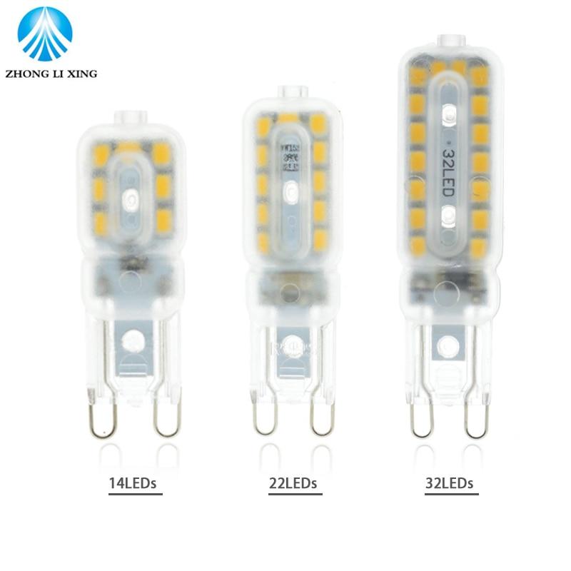 Mini G9 Led Lamp Light 5W 7W 9W AC 220V  G9 Led Bulb SMD2835 LED G9 Spotlight For Crystal Chandelier Replace Halogen Lamp